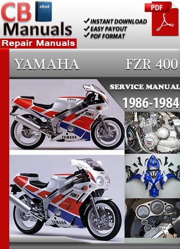 yamaha fzr400 1986 1994 service repair manual technical. Black Bedroom Furniture Sets. Home Design Ideas