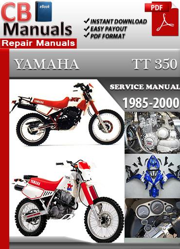 Yamaha Tt 350 1985
