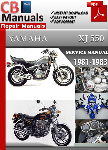 yamaha xj 550 1981 1983 repair manual technical repair manuals yamaha xj550 1981 1983 service repair manual